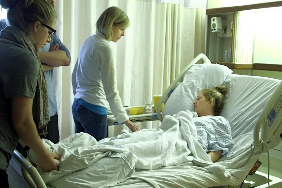 Caitlin pre-surgery