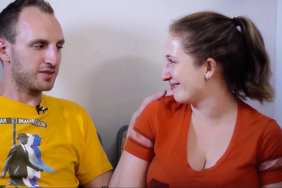 Caitlin Brodnick and husband Allen