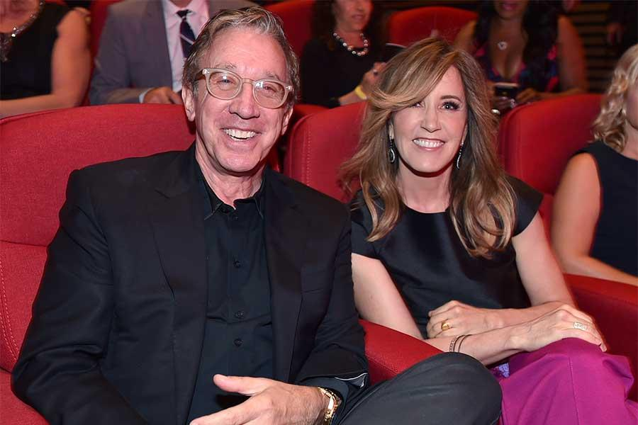 Tim Allen and Felicity Huffman at the Television Academy's 70th Anniversary Gala and Opening Celebration for its new Saban Media Center on June 2, 2016