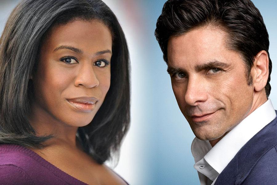 Uzo Aduba and John Stamos