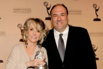 Sheila Nevins & James Gandolfini at the Fourth Annual Television Academy Honors