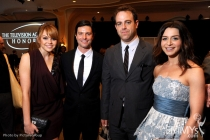 Aimee Teegarden, Jason Behr, Paul Adelstein & Caterina Scorsone at the Fourth Annual Television Academy Honors