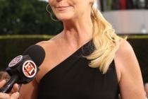 Joan Allen arrives at the 62nd Primetime Emmy Awards