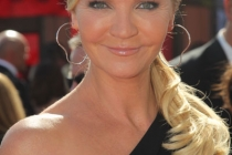 Joan Allen arrives at the 62nd Primetime Emmy Awards