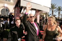 Terry O'Quinn arrives at the 59th Primetime Emmy Awards