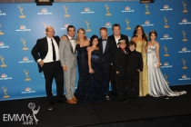 The cast of Modern Family at the 62nd Primetime Emmy Awards