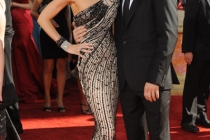 Jennifer Carpenter and Michael C. Hall at the 61st Primetime Emmy Awards