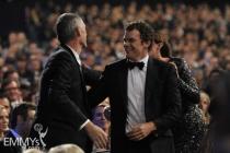 Michael C. Hall and Steve Shill at the 62nd Primetime Emmy Awards