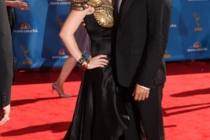 Anna Paquin & Stephen Moyer arrive at the 62nd Primetime Emmy® Awards