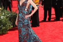 Carrie Preston arrives at the 62nd Primetime Emmy® Awards
