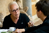 John Guare, Oscar nominated screen writer and Tony Award winning playwright, mentors three 2010 YoungArts Winners