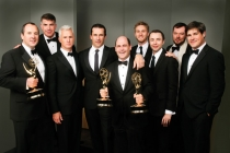 Matthew Weiner and the men of Mad Men