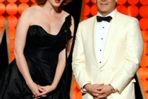 Christina Hendricks and Matthew Weiner at the 62nd Primetime Creative Arts Emmy Awards