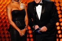 Mel B. and Conrad Green at the 62nd Primetime Creative Arts Emmy Awards