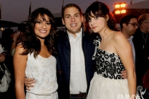 Lea Michele, Jonah Hill, Zooey Deschanel