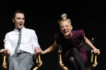 """Jim Parsons and Kaley Cuoco at """"An Evening With The Big Bang Theory"""""""