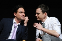 "Johnny Galecki and Jim Parsons at ""An Evening With The Big Bang Theory"""
