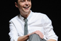 """Jim Parsons onstage at the Leonard H. Goldenson Theatre for """"An Evening with The Big Bang Theory"""""""