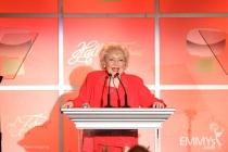 Betty White pays tribute to Bob Stewart.