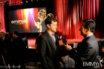 Joshua Jackson at the 63rd Primetime Emmy Awards Nominations Ceremony