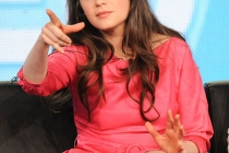 New Girl star Zooey Deschanel at the 2012 winter TCA conference