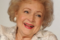 Betty White onstage during the Betty White's Off Their Rockers panel during the 2012 Winter TCA Tour