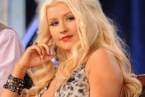 Christina Aguilera onstage during The Voice panel at the 2012 Winter TCA Tour