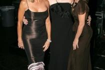 Farrah Fawcett, Kate Jackson & Jaclyn Smith at the 58th Primetime Emmy Awards