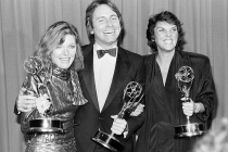 Jane Curtin, John Ritter and Tyne Daly