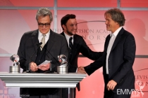 David E. Kelley, Nathan Corddry and Bill D'Elia at the 5th Annual Television Academy Honors