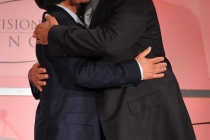 Brad Garrett and Ray Romano onstage at the 5th Annual Television Academy Honors