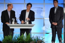 Ray Romano, Brad Garrett and Mike Royce at the 5th Annual Television Academy Honors