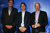 Brad Garrett, Ray Romano and Mike Royce at the 5th Annual Television Academy Honors