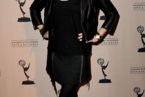 Anna Gunn arrives at an Evening with Breaking Bad