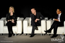 Anna Gunn, Aaron Paul and Giancarlo Esposito participate in an Evening with Breaking Bad