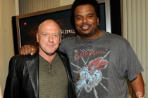 Dean Norris and Craig Robinson attend the VIP reception at an Evening with Breaking Bad