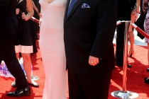 Jennifer Elia and Chaz Bono attend the Academy of Television Arts and Sciences 2011 Primetime Creative Arts Emmys