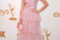 Jayma Mays arrives at the Academy of Television Arts & Sciences 63rd Primetime Emmy Awards