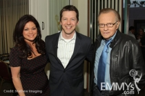 Hot In Cleveland - Valerie Bertinelli, Sean Hayes & Larry King