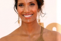 Padma Lakshmi arrives at the Academy of Television Arts & Sciences 63rd Primetime Emmy Awards