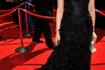 Michelle Forbes arrives at the Academy of Television Arts & Sciences 63rd Primetime Emmy Awards