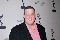 Billy Gardell arrives at an Evening with Mike & Molly