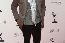 Nyambi Nyambi arrives at an Evening with Mike & Molly