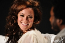 Katy Mixon participates in an Evening with Mike & Molly