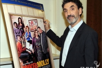 Chuck Lorre attends an Evening with Mike & Molly