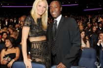 Gwyneth Paltrow and Don Cheadle in the audience during the Academy of Television Arts & Sciences 63rd Primetime Emmy Awards