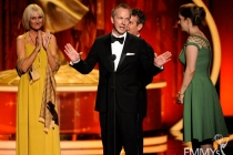 """The Kennedys"" Makeup Team accepting award at the Academy of Television Arts and Sciences 2011 Primetime Creative Arts Emmys"