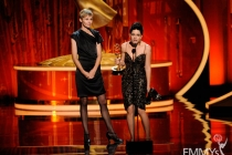"""""""Boardwalk Empire"""" Makeup Team Accepting Award at the Academy of Television Arts and Sciences 2011 Primetime Creative Arts Emmys"""