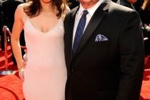 Chaz Bono and Jennifer Elia arrive at the 2011 Primetime Creative Arts Emmys