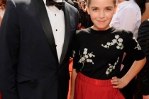 Matthew Weiner and Kiernan Shipka attend the Academy of Television Arts and Sciences 2011 Primetime Creative Arts Emmys